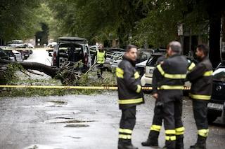 Maltempo a Roma: 250 interventi dei vigili del fuoco per rami e alberi caduti