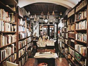 La libreria del Viaggiatore a Roma
