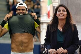 """Virginia Raggi elogia Matteo Berrettini: """"Dalla periferia di Roma alle Atp Finals"""""""