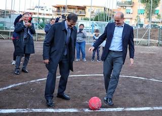 """Nicola Zingaretti contro Matteo Salvini: """"Nelle periferie si viene a fare fatti, non comizi"""""""