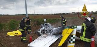 Tolfa, ultraleggero urta i cavi dell'alta tensione: morto anche il pilota Silvestro Morelli