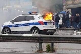 Scontri finale Coppa Italia: arrestati 13 Irriducibili. Incendiarono volante della polizia