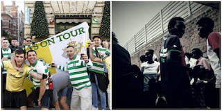 """Ultras del Celtic raccolgono 17mila euro per Baobab: """"Contro il razzismo, supportiamo i migranti"""""""