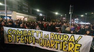 Roma scende in strada in difesa di Centocelle: nel corteo in Piazza dei Mirti anche tanti bambini