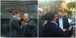Incendio Pecora Elettrica: arrivano il vicesindaco Luca Bergamo e il ministro Dario Franceschini