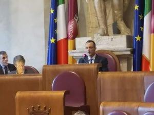 Marcello De Vito in aula