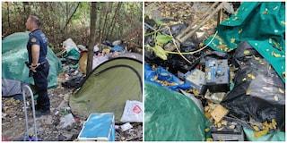 Discarica abusiva a ridosso del Tevere, trovati rifiuti speciali: s'indaga su traffico di materiali