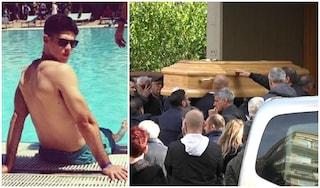 Funerali di Luca Sacchi: l'ultimo saluto al personal trainer ucciso da un colpo di pistola all'Appio