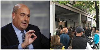 """Ancora roghi a Centocelle, Zingaretti: """"Misure contro intimidazioni già da prossima settimana"""""""