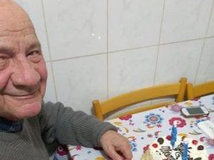 Il signor Mario Paolucci, scomparso a Poli, Roma, il 30 ottobre