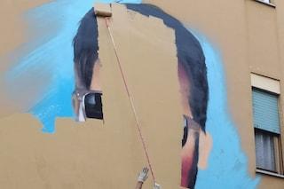 """Cancellato il murales di Diabolik a Tor Pignattara: """"Via ennesimo sfregio su bene pubblico"""""""