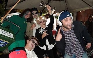 Cassino, vestita da Nadia Toffa vince il premio di maschera più bella alla festa di Halloween