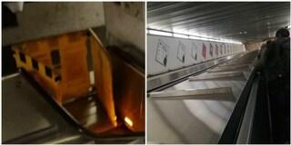 Metro di Roma: scale mobili chiuse a Repubblica, Valle Aurelia e Policlinico