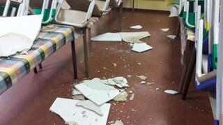 Tufello: solo per caso il soffitto della scuola non è cascato in testa ai bambini