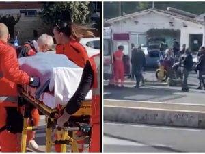 Sparatoria e incidente a Corso Francia