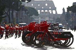 Uber Jump, altre 2mila bici rosse invaderanno il centro storico di Roma