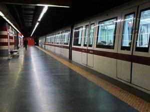 Foto di repertorio – Metro A