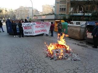 Casal Bruciato, protestarono contro case popolari al gelo e con impianti fatiscenti: denunciati