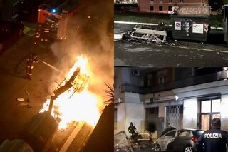 Nuovi roghi di cassonetti di rifiuti a Roma: incendi nella notte in varie zone della città