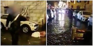 Roma, lanciò bidone dell'immondizia a carabiniere: ultras della Lazio ai domiciliari, 8 identificati