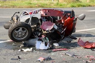 Incidente a Minturno, motociclista si schianta contro Fiat Punto: morto il 40enne Salvatore De Meo