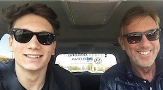 Manuel Bortuzzo supera l'esame della patente speciale e guida l'auto regalata dai colleghi del papà