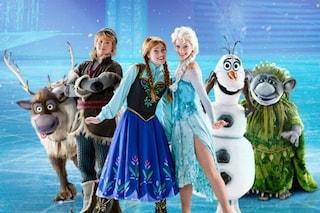 Musical Frozen a Roma, Anna ed Elsa sul ghiaccio al Palazzo dello Sport