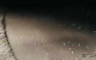 Nevica nel Lazio, candidi fiocchi cadono nel Reatino e a Gaeta