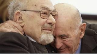 Piero Terracina e l'amicizia con Sami Modiano nata nell'inferno di Auschwitz