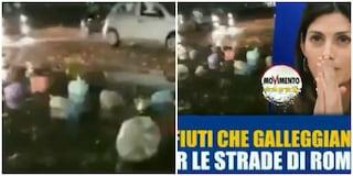 """Rifiuti, Salvini attacca Raggi: """"Immondizia galleggia nelle strade dopo pioggia, bello schifo"""""""