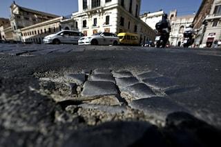 Addio sampietrini, dopo un secolo torna l'asfalto nel centro di Roma