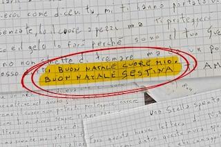 """Caso Arcuri, le lettere dal carcere di Andrea accusato di omicidio: """"Buon Natale Sestina ti amo"""""""
