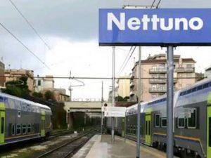 La stazione ferroviaria di Nettuno