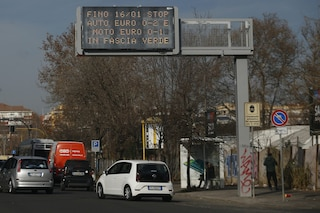 Roma, stop veicoli inquinanti 25, 26 e 27 gennaio: ancora alti livelli di Pm10 nell'aria