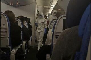 Coronavirus, atterrati venti passeggeri a Pratica di Mare con un volo proveniente da Wuhan
