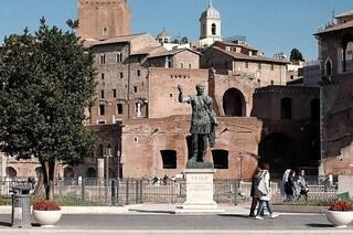 Roma, chiuso largo Corrado Ricci ai Fori Imperiali, bus deviati