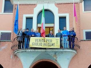 Verità per Giulio Regeni: lo striscione sul III Municipio a 4 anni dalla sua scomparsa