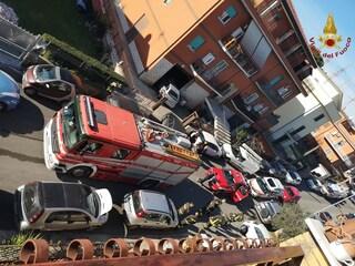 Case Rosse, incendio in un appartamento di via Civitacampomarano: morta un'anziana di 80 anni