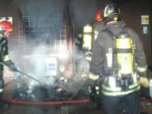 Immagine dei vigili del fuoco