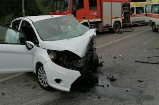 Incidente sulla via Salaria: morto il conducente di un'auto