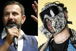 """Polemiche su Junior Cally a Sanremo, De Vecchis (Lega): """"Ti toglierei la residenza a Fiumicino"""""""