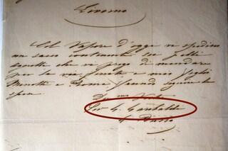 Roma, ritrovata lettera non autografa attribuita a Giuseppe Garibaldi