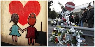 Gaia e Camilla investite a Corso Francia, gli amici le ricordano con un murales