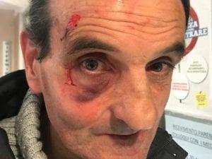 Roberto Chiacchierini, il tassista aggredito