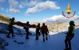 Nuovo incidente mortale sul Terminillo: ghiaccio killer, escursionista scivola e precipita