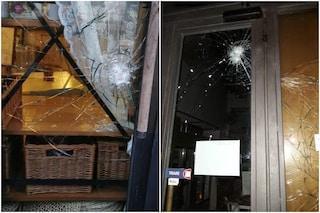 Ladri al Vivi Bistrot di villa Pamphili: distrutte le vetrine del bar
