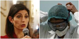 """Coronavirus, Virginia Raggi: """"No allarmismi, situazione sotto controllo"""""""