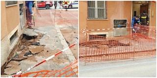 Roma, voragine al Colosseo: evacuate quindici persone da un palazzo, chiusi due negozi