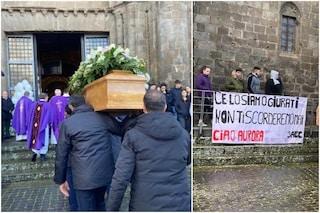 """Funerali di Aurora Grazini, i compagni di scuola: """"Ce lo siamo giurati, non ti scorderemo mai"""""""