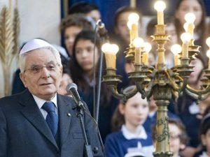 Il presidente della Repubblica, Sergio Mattarella, ha visitato il Tempio Maggiore di Roma